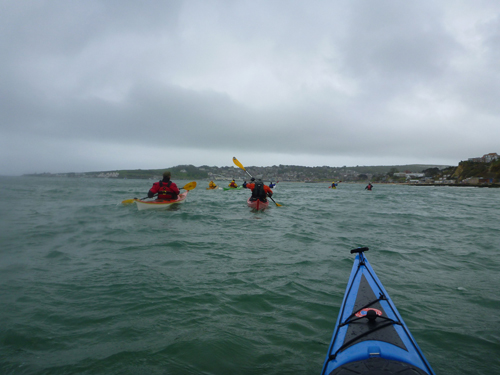 A nice paddle through Swanage.