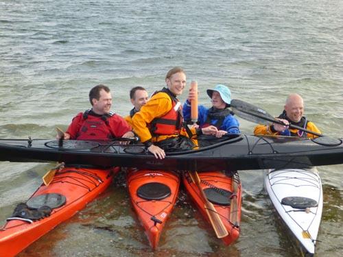Creativity and kayaking often go hand in hand.