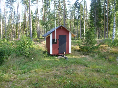 And a portable sauna to take to the lake after a cool swim.