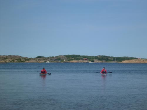 I find the islands around Grebbestad to be very peaceful, especially on a calm day.