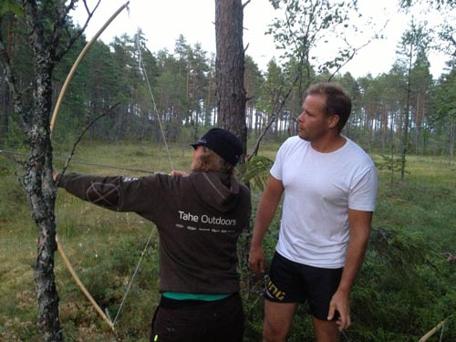 Of course there was archery as well.