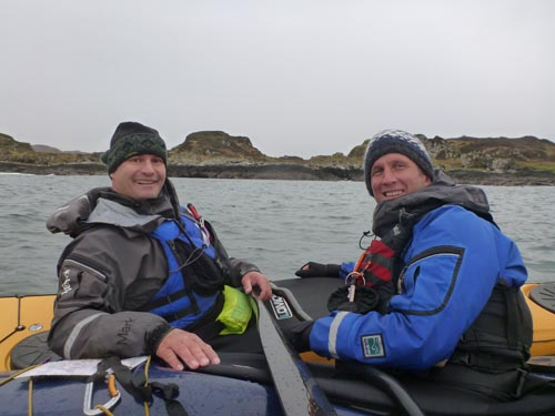 Mark and James have an on-water meeting during the assessment. I wonder what they're planning...