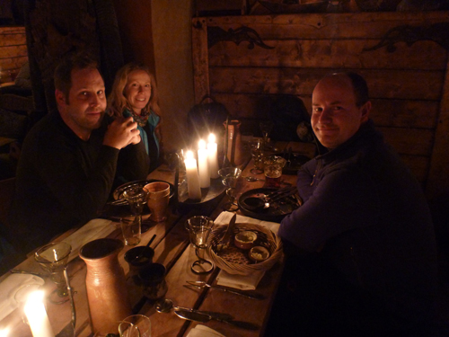 Stockholm has a fantastic Viking restaurant called Aifur.
