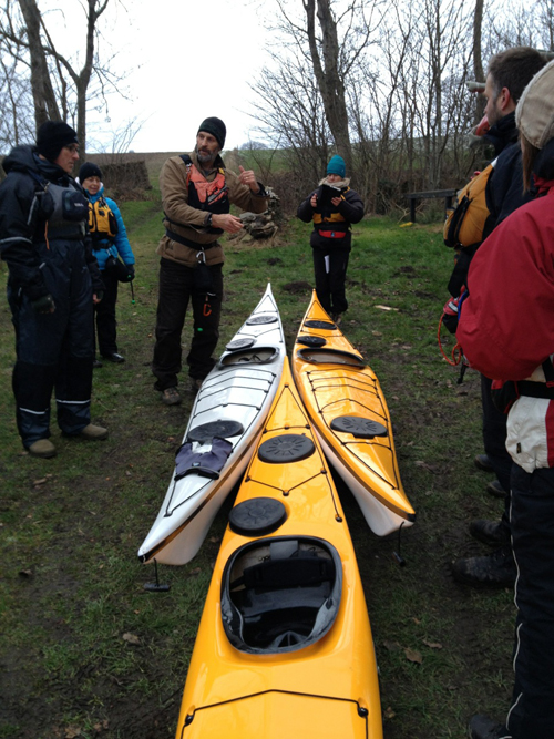 Jeff talks about the many ways to tow a kayak.