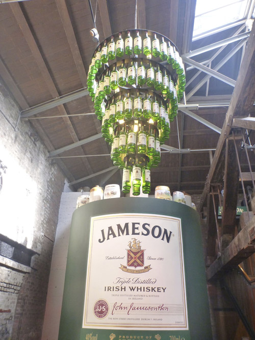 Dublin is home to the Jameson Distillery.