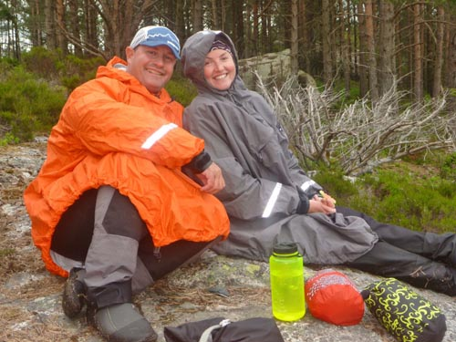 But even when temperatures cooled off our Kokatat Storm Cags kept us dry and warm.