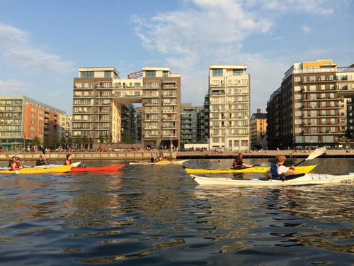 Stockholm is a gorgeous city to explore by kayak.