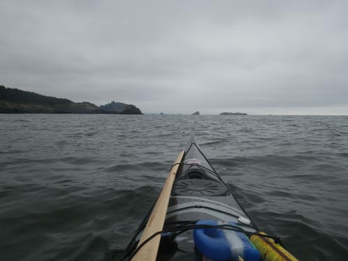 We enjoyed a nice paddle back to Trinidad Head.