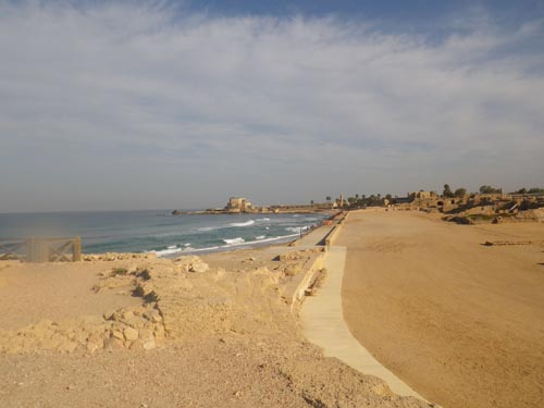 The old town in Caesarea.
