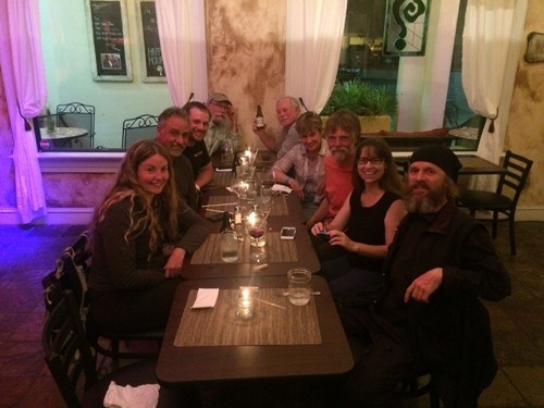 And equally as fun to go out for a post event dinner at the local wine bar.