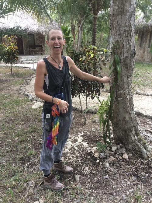 Jaqueline is very knowledgeable about the plants, birds, bugs and animals in the area.