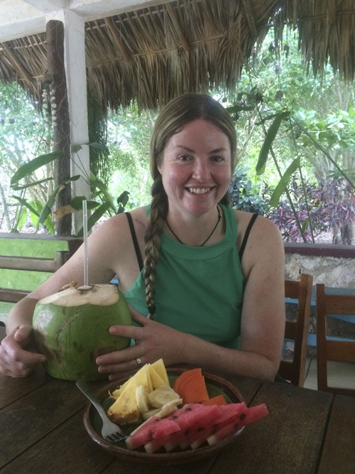 I also really enjoyed the fresh fruit and coconuts.
