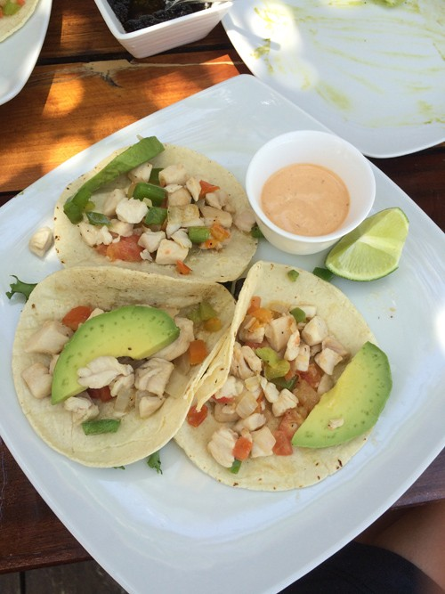 Of course, there were fish tacos as well.