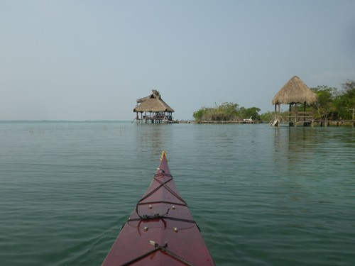 Gunnar runs kayaking trips on the lagoon for guests. I tagged along on one of these trips.