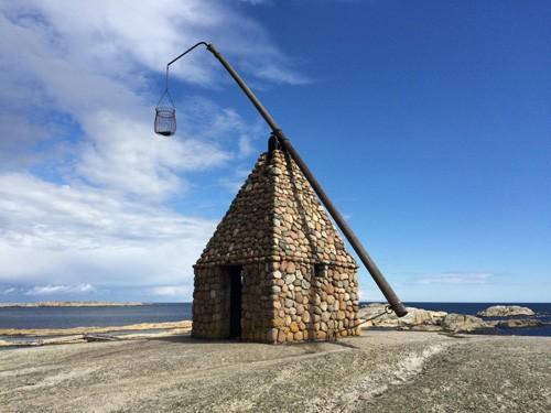 A lighthouse at Verdens Ende.