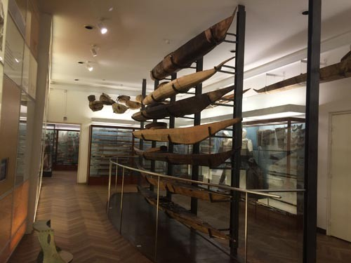 While we were in Copenhagen, we took the opportunity to go to the Natural History Museum and marvel at the incredible kayak display.