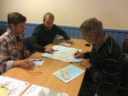 Mark ran a BCU Coastal Navigation and Tidal Planning class.