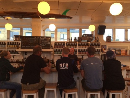 We had our own private brewery tour at Nynäshamns Ångbryggeri, which including a tasting of the breweries award winning beers.